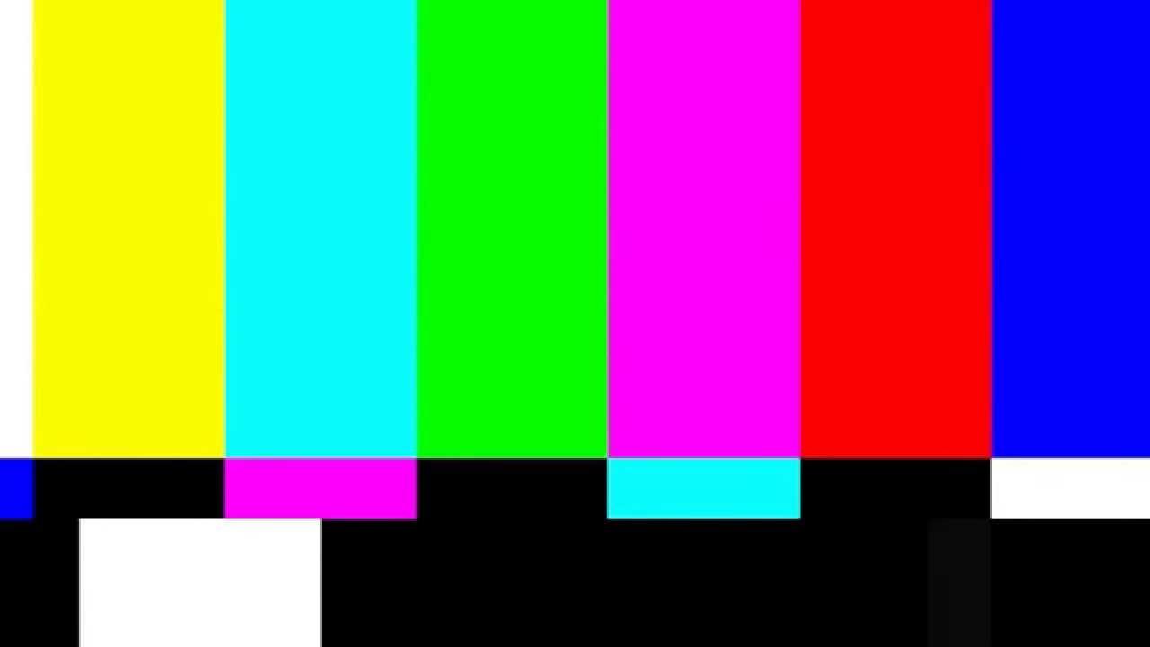 Smpte Color Bars No Signal Tv 4s