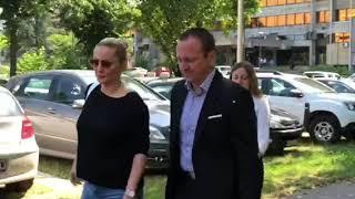Goca Tržan stigla na suđenje 16.07.2019.