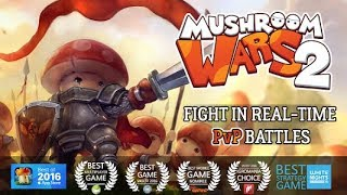 Mushroom Wars 2 – Epic Tower Defense  Gameplay | Android 1080 HD