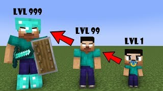 Monster School : Herobrine Life - sad minecraft animation