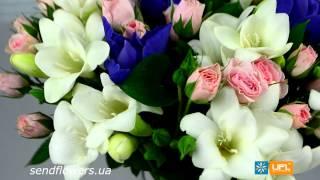 Букет Легкий - доставка цветов sendflowers.ua(Заказать букет Легкий на сайте - http://www.sendflowers.ua/product/legkiy Эта композиция символизирует собой дух теплого..., 2014-07-19T14:29:23.000Z)