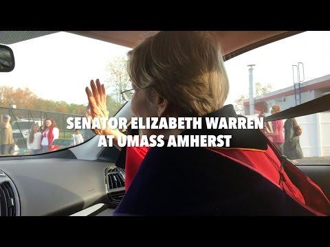 Senator Warren Speaks at UMass Amherst Commencement