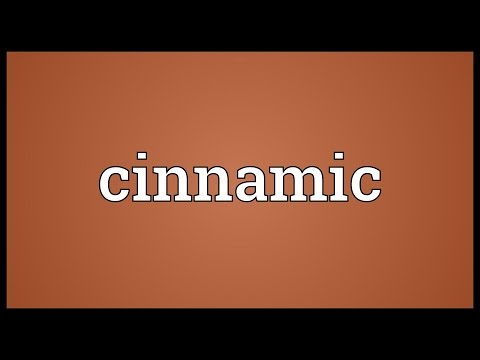 Cinnamic Meaning