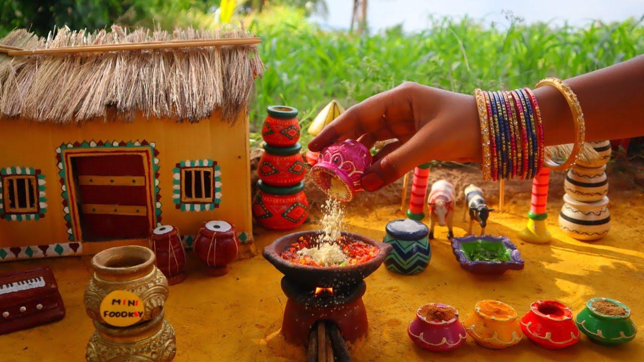 Miniature Gujarati Bhindi Masala | Okra Masala | Ladies Finger Recipe |Mini Foodkey