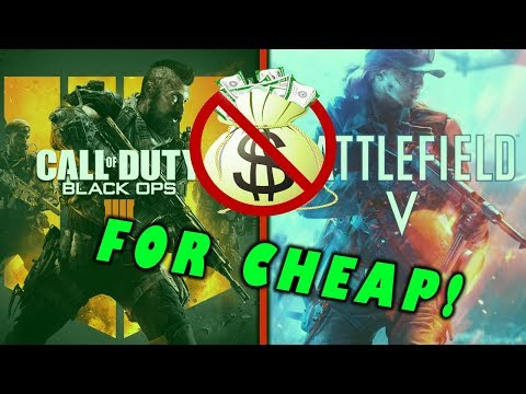 How to Get Call of Duty Black Ops 4 For Real Cheap!