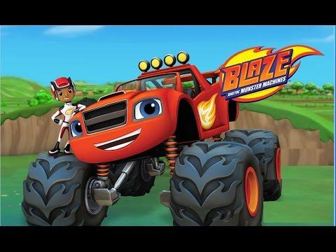 blaze and the monster machine: Race the Sky track!   بليز والشاحنات العملاقة : سباق مسار السماء