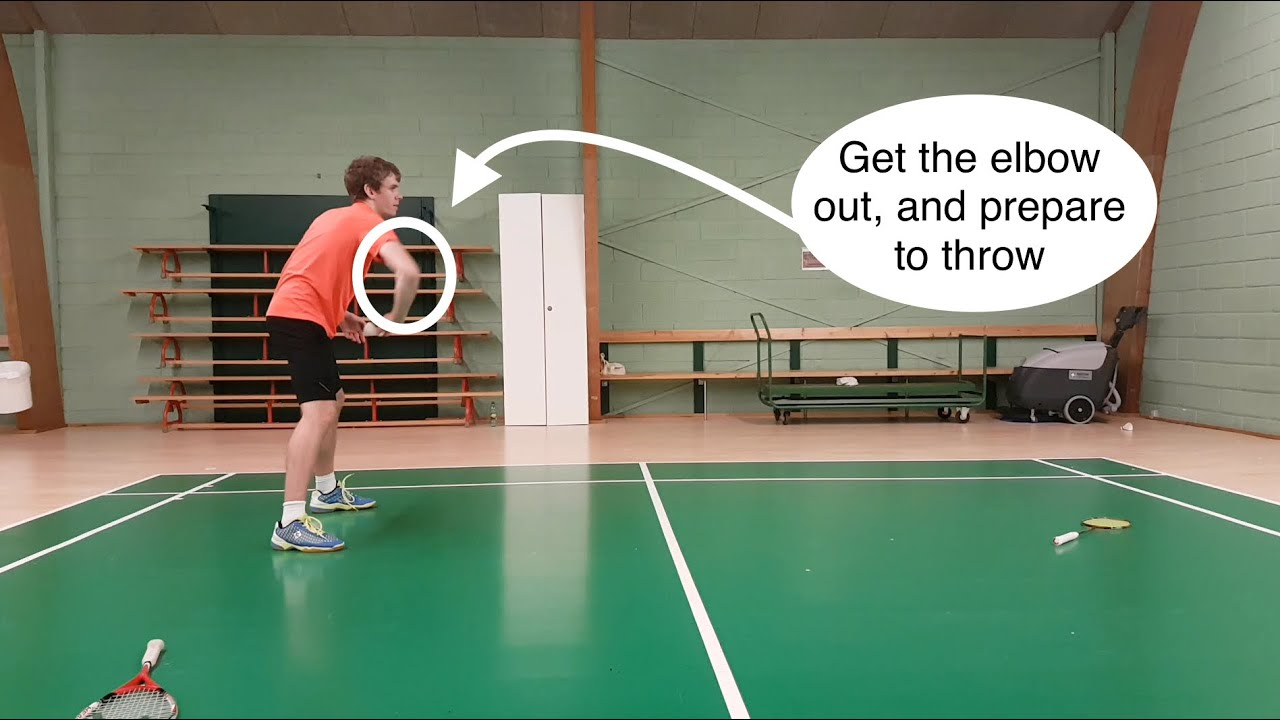 Badminton Beginners - Introduction of Basic Shots in ...