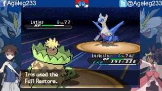Pokémon Blaze Black 2 & Volt White 2 - Vs Champion Iris (Challenge Mode)