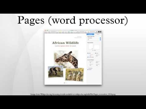 Pages (word processor)
