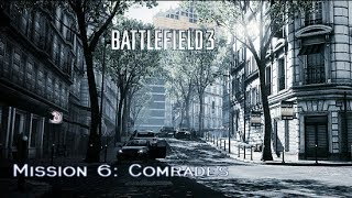 Battlefield 3 - Campaign Mission 6: Comrades (HD PS3 Gameplay)