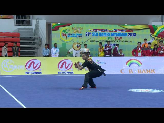 27th SEA GAMES MYANMAR 2013 - Wushu 1 07/12/13 Travel Video
