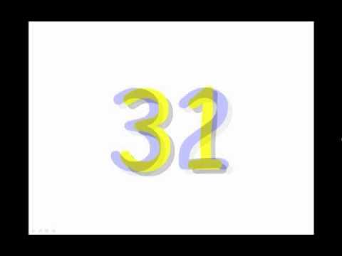 นับตัวเลขเป็นภาษาอังกฤษ