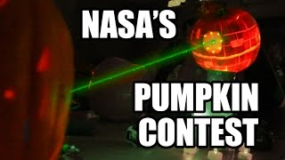 NASA Pumpkin Carving Contest w/ LASERS!!!