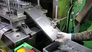 Press mold 프레스 금형  자동금형으로 제작하여…