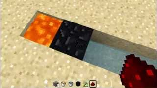 EASY Obsidian Generator For Skyblock Minecraft Tutorial 1.8.8