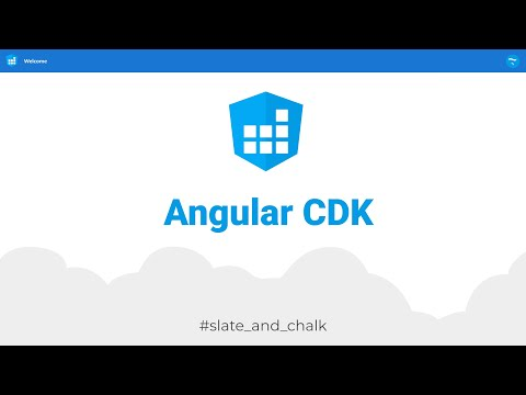 Introduction to Angular Component Dev Kit (CDK) on Windows thumbnail