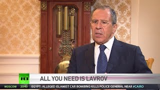 Lavrov: Americans are not ready to admit they cannot run the show (FULL INTERVIEW)