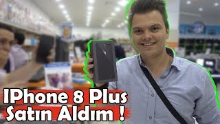 GECE 12'DE IPHONE 8 PLUS SATIN ALDIM !