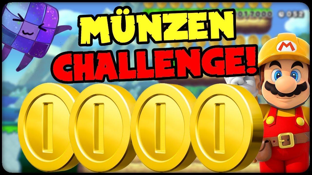Super Mario Maker Münzen Challenge 341 Online Deutsch