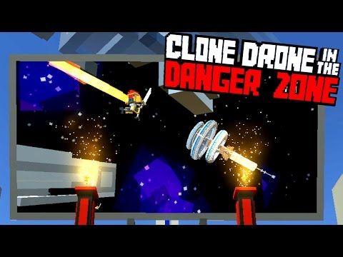 Defeating the New Story Mode! - Clone Drone in the Danger Zone Gameplay