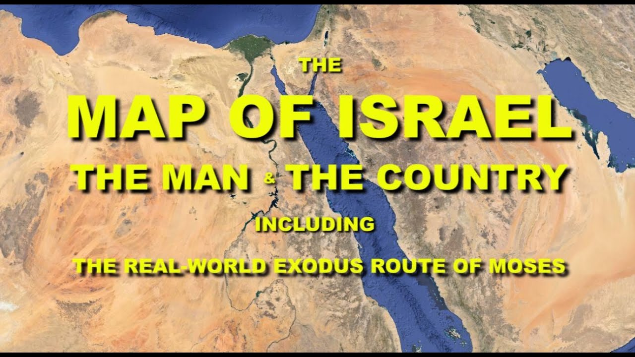 Map of Israel YouTube