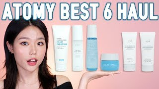 Well-known brand in Korea, the ATOMY's best selling 6 products HAUL🐬