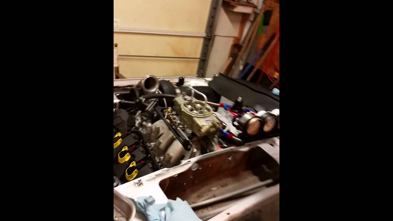 Coyote 5 0 with a carb first fire up