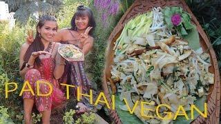 PAD THAI VEGAN AUTHENTISCH UND EXPRESS ผัดไทย