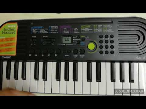 Subscribe The best cheapest piano you can buy under 2000 Rs casio sa 47a indian edition full review