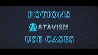 Atavism Online - Use Cases - Potions