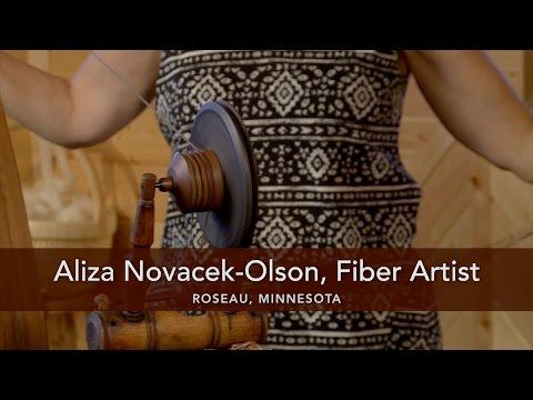 Aliza Novacek-Olson: Fiber Artist; Roseau, MN