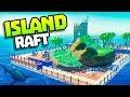 ISLAND INSIDE HUGE RAFT! - Raft Update! - Raft Steam Release Gameplay