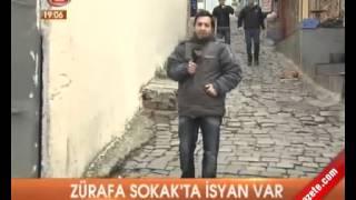 Karaköy Zürafa Sokak'ta hayat kadınları isyan etti.