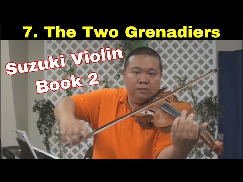 Suzuki Violin School - Book 2 - The Two Grenadiers