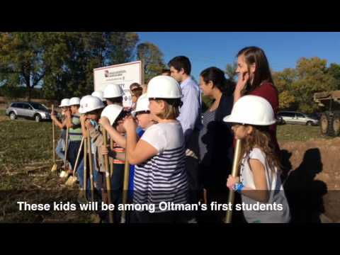 Groundbreaking for new Oltman Middle School