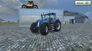 TEST MOD l New holland T 8020 Très beau tracteur!!!