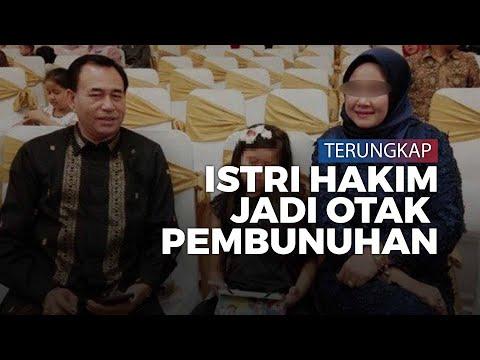 Pembunuhan Hakim PN Medan Terungkap, Sang Istri Jadi Otak Pembunuhan