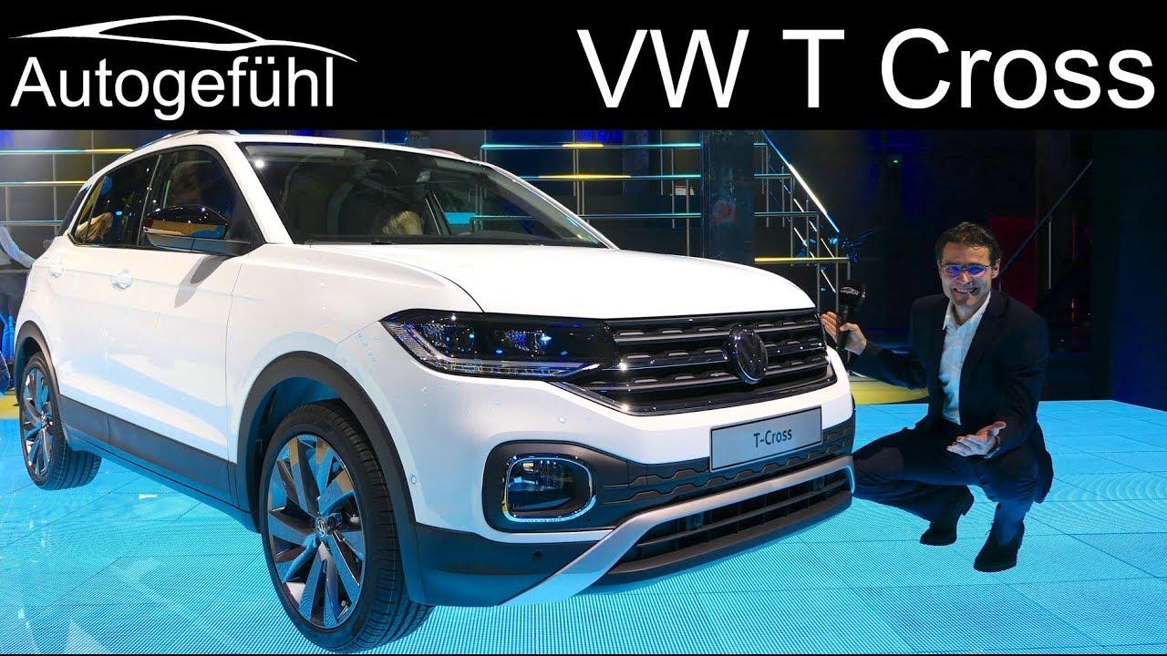 volkswagen t cross premiere review colours trims vw t. Black Bedroom Furniture Sets. Home Design Ideas