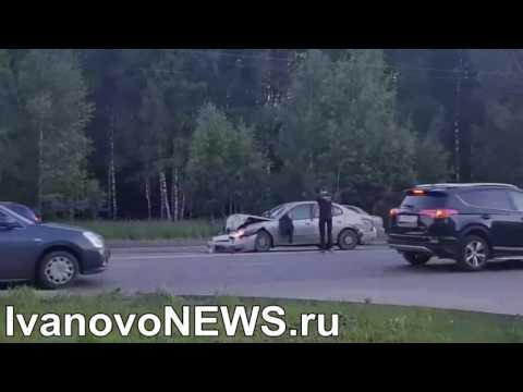 В Иванове прохожие догнали убегающего с места ДТП водителя