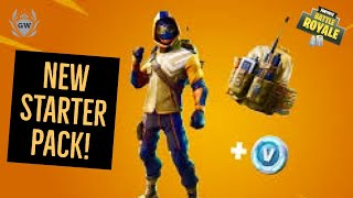 NEW Summit Striker Starter Pack! Fortnite Battle Royale! Season 6! Summit Striker Starter Pack