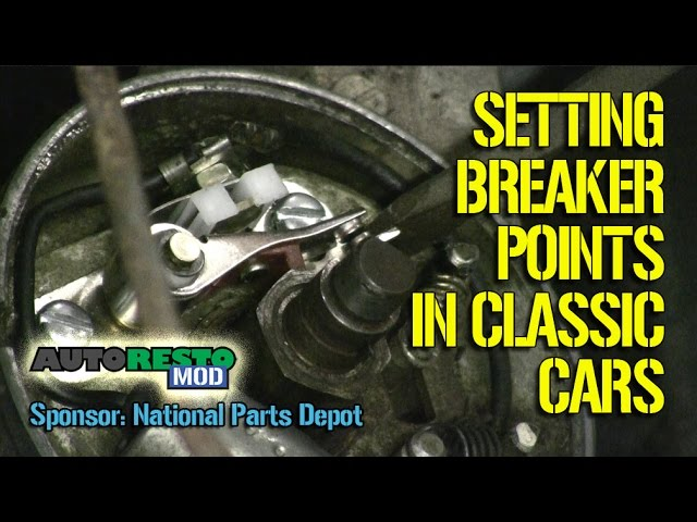 How To Install Adjust And Set Breaker Points In An Automobile Episode 267 Autorestomod