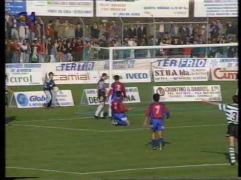 Alverca - 0 x Sporting - 3 de 1992/1993 1/4 Final Taça de Portugal