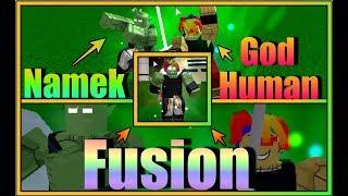 Deus humano despertado Namekian Fusion | Dragon Ball Z final stand | Roblox