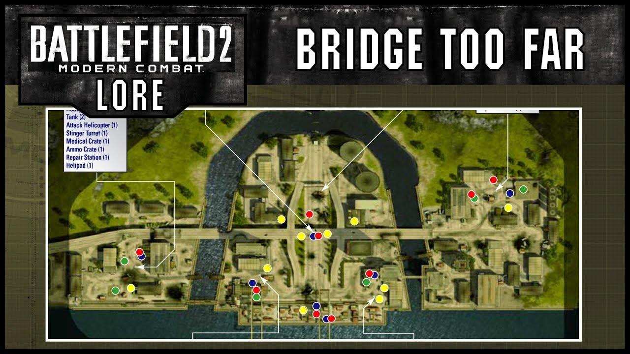 Battlefield 2 Modern Combat Lore Maps Bridge Too Far Youtube