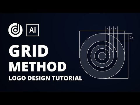 Logo design Tutorial Using the Grid Method in Adobe Illustrator CC thumbnail