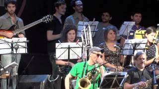 Córdoba Jazz Orchestra en el Córdoba Jazz Festival 2015 Parque Las Tejas