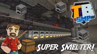 The Super Smelter! - Truly Bedrock SMP Season 2! - Episode 15