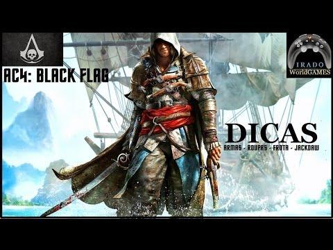 """AC4: Black Flag """"Armas, Frota e o Jackdaw"""" GAMEPLAY"""