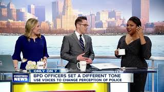 Singing Buffalo police officers change the narrative of law enforcement