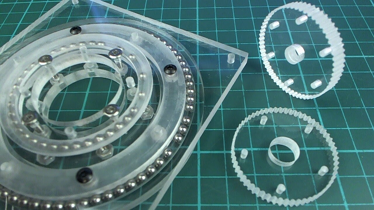 A 2.5D Slew Ring | Hackaday.io